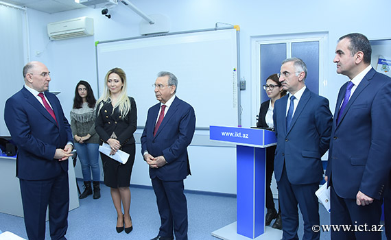 President of ANAS Ramiz Mehdiyev got acquainted with the innovative conditions created at the Institute of Information Technology