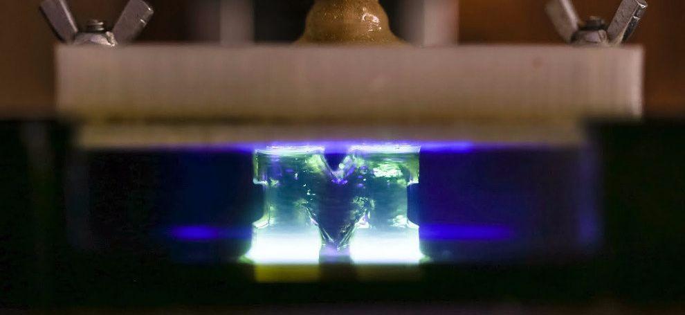 İşıq şüaları 3D-çap prosesini 100 dəfə sürətləndirməyə kömək edib
