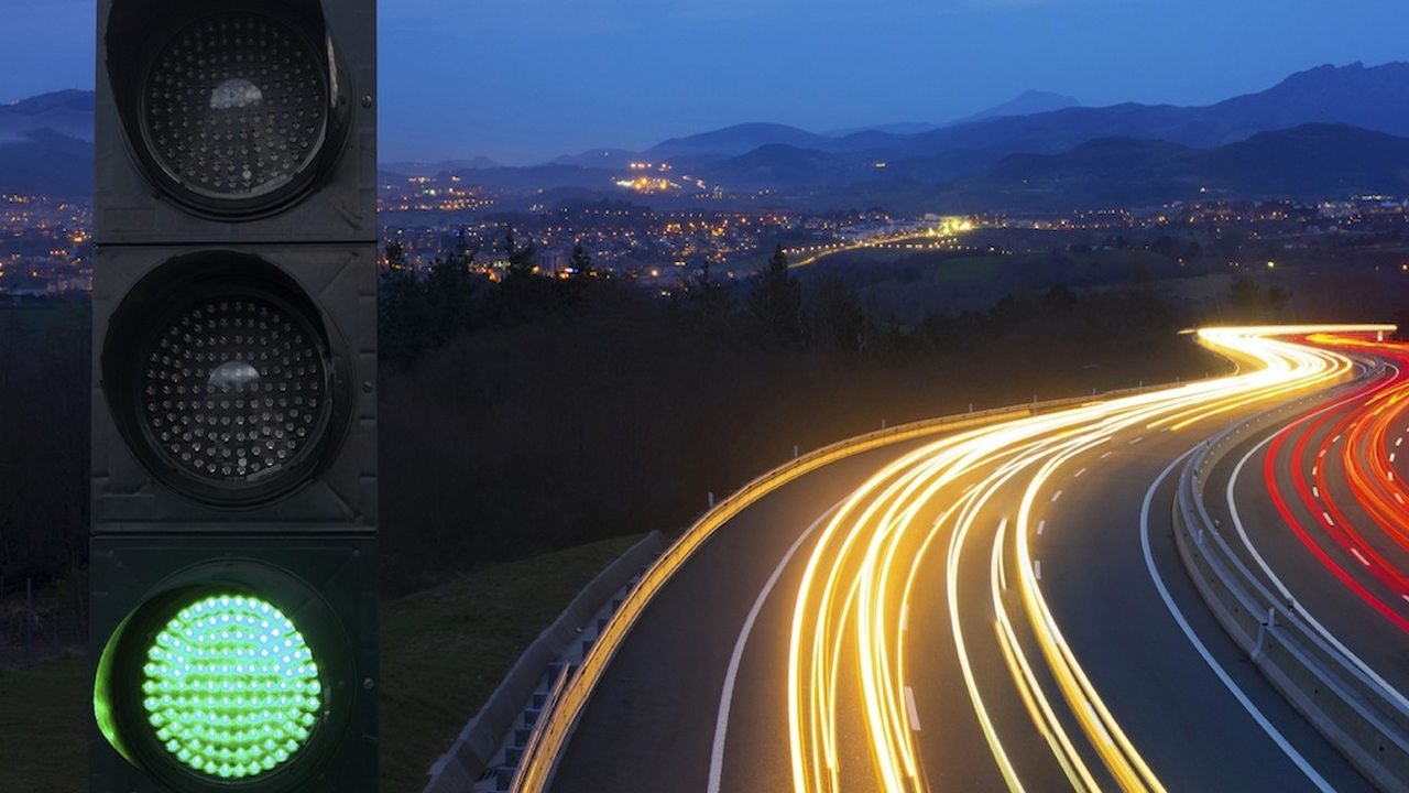 Developed a technology that eliminates waiting at traffic lights