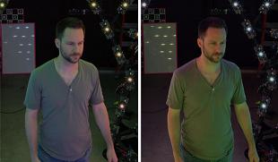 Google научилась реалистично переносить человека в виртуальное окружение