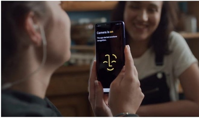 Huawei new app allows blind people to hear the emotions of the interlocutor