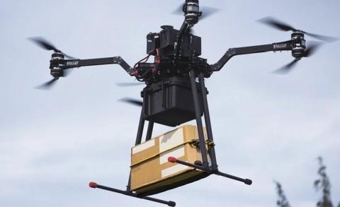 Ağır yüklərin çatdırılması üçün dron hazırlanıb
