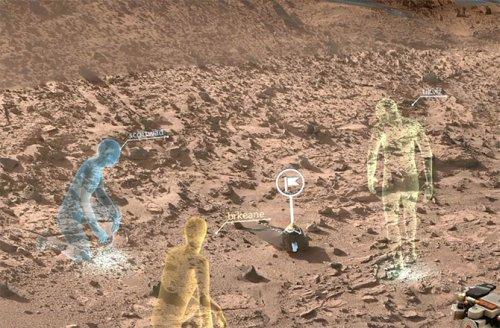 Marsa ayaq basacaq ilk insanlar virtual tədqiqatçılar olacaq