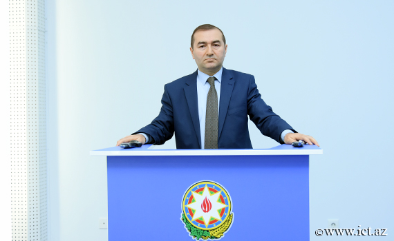 """Rasim Mahmudov: """"Research by institute staff will be of particular importance in the activities of the Baku regional center of the World Economic Forum"""""""
