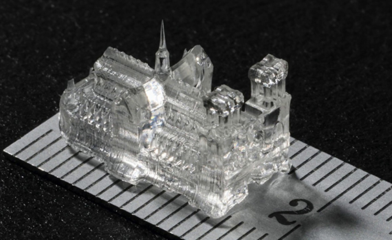 New technology prints tiny objects in seconds