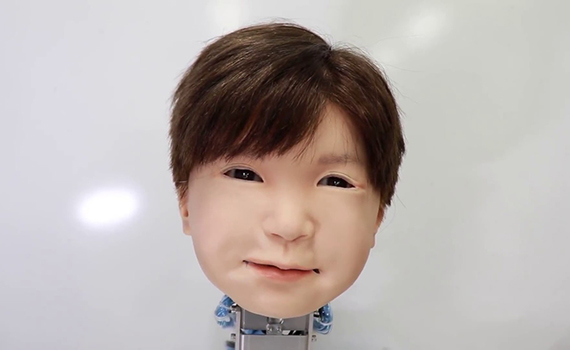 "Japanese scientists made the robot ""feel"" the pain"