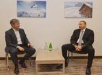 """Azərbaycan prezidenti """"Microsoft International"""" şirkətinin rəhbəri ilə görüşüb"""