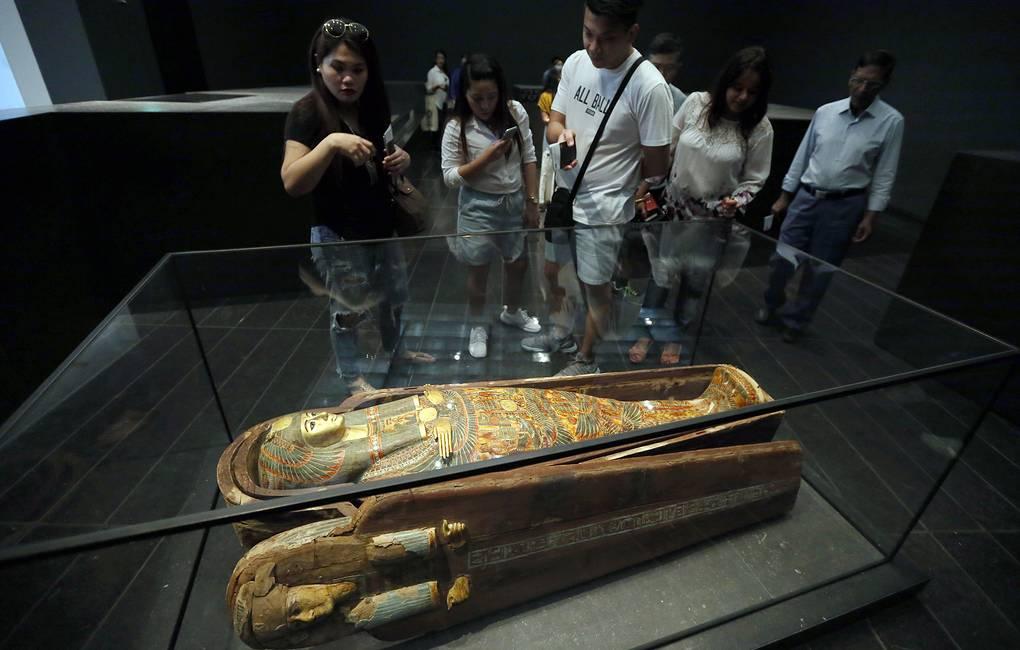 3100-летняя египетская мумия «заговорил»