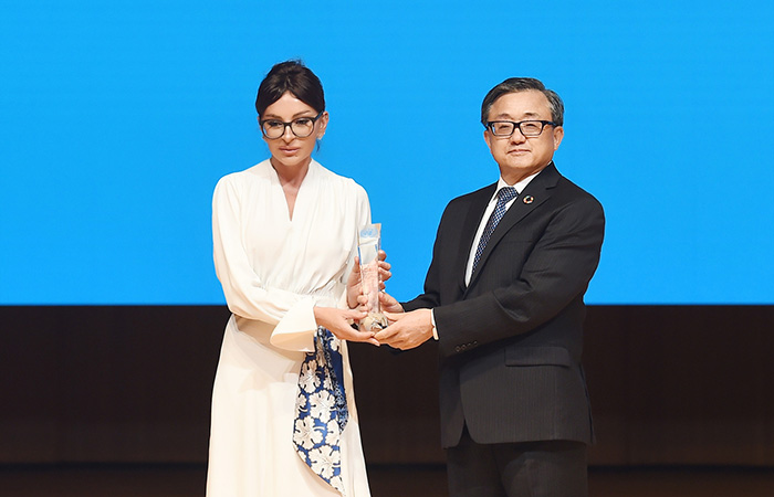 ,First Vice-President Mehriban Aliyeva received award for promoting innovation in the digital public service delivery in country