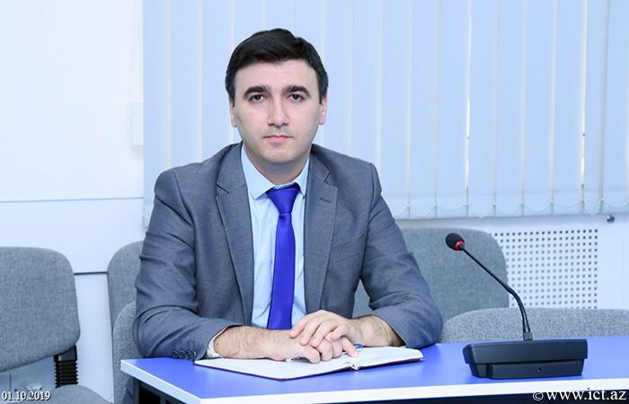 Färhad Yusifov,Fərdi məlumatların təhlükəsizliyinin təmin olunması üçün istifadə olunan müasir metodlar analiz olunub