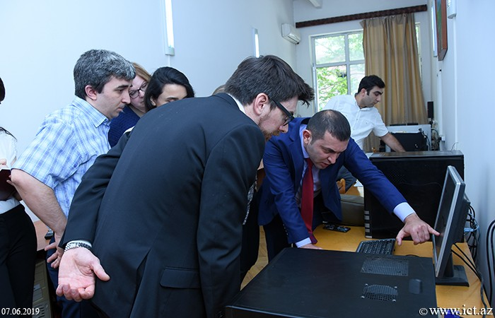 ,GEANT Community team visited the Institute of Physics and Republican Seismological Service Center