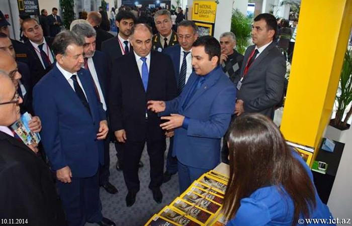 """,""""Bakı Elm Festivalı-2014""""də institutun fəaliyyətini əks etdirən stend nümayiş olunub"""