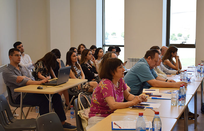 Head of the department  was represented at State Examination Commission of Baku branch of Moscow State University