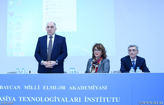 """,The institute held a meeting with the director of the  """"Millennium"""" project Professor Jerome Glenn"""