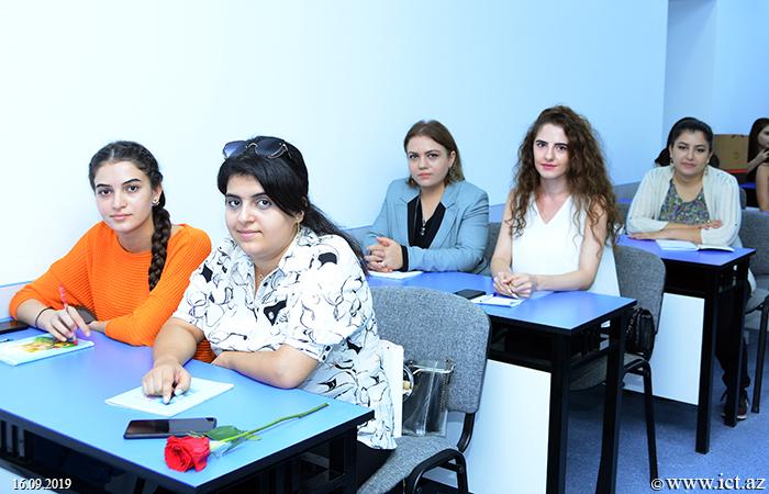 ,В Институте информационных технологий НАНА стартовал учебный год магистрантов
