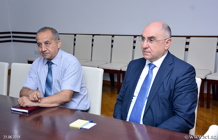 ,Meeting with the Head of Department of Cyber Security of the National Center for Nuclear Research held
