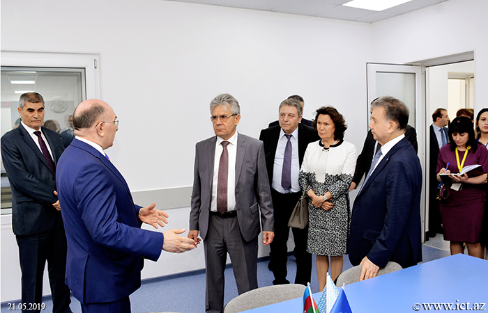 ,President of the Russian Academy of Sciences visited the Institute of Information Technology of ANAS