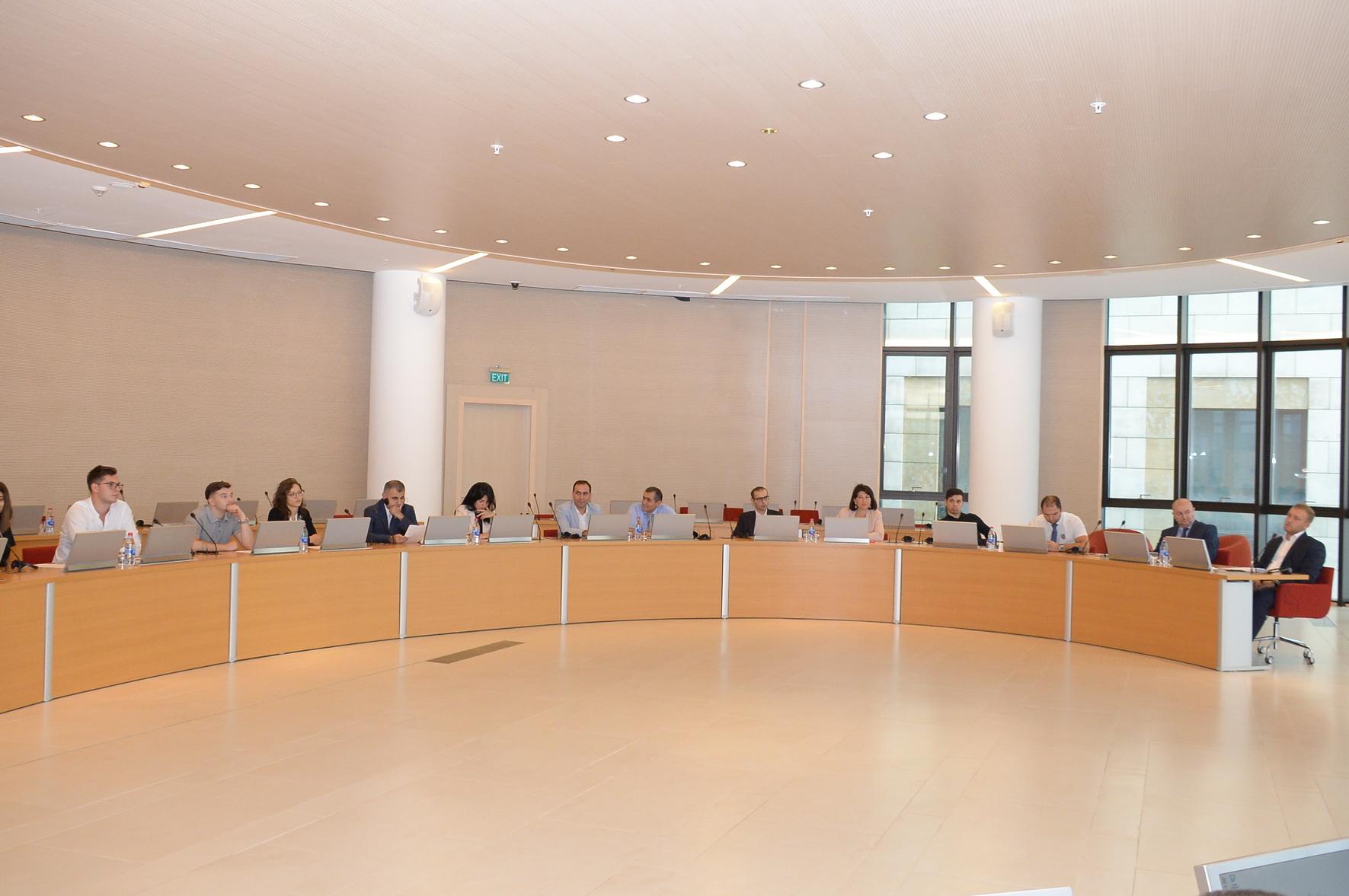 """,""""Hüquq və rəqəmsallaşma"""" - """"Law and Digitalization"""" mövzusunda seminar keçirilib"""