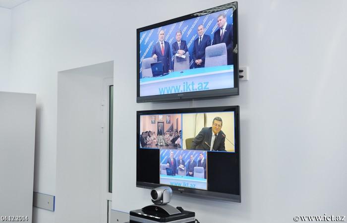 ,AMEA prezidenti və təhsil naziri İnformasiya Texnologiyaları İnstitutunun texnoloji imkanları ilə tanış oldular
