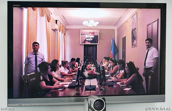 ,PhD exams in informatics held in Ganja