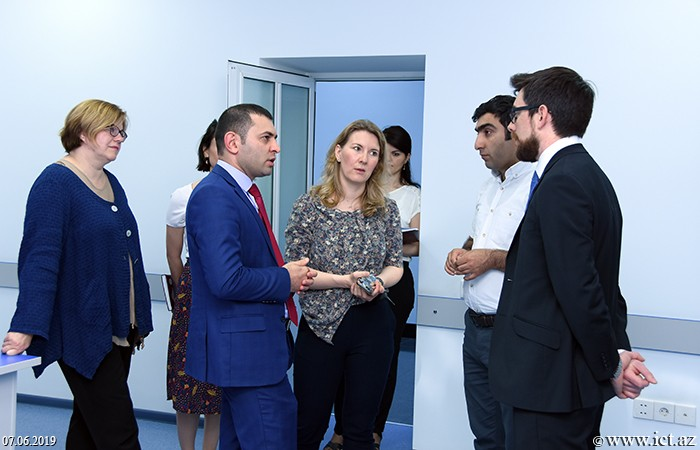 ,GEANT team visited  Institute of Information Technology of ANAS