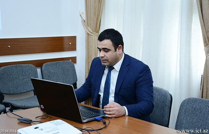 ,The presentation of the web site of the two departments of the Presidium of ANAS was held
