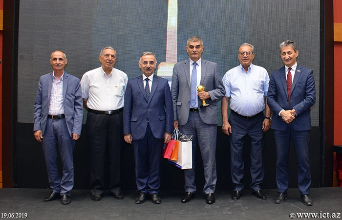 ,Academician Rasim Aliguliyev received the NETTY2019 award for his contribution to the development of information technology in our country