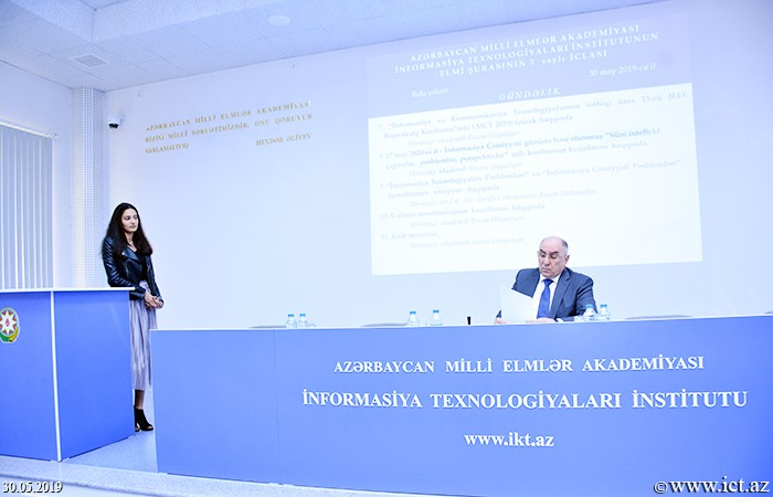 """,Academician Rasim Aliguliyev: """"We must pay special attention to the growth of the innovative potential of the institute in a market economy"""""""