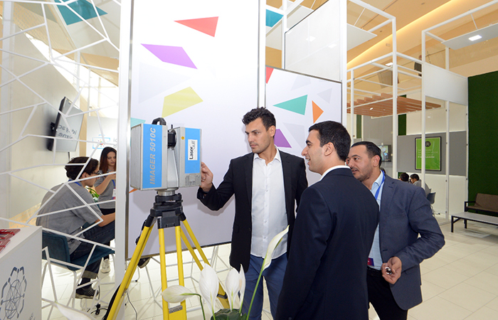 ,Exhibit of innovative products, services and applications organized at 6th Baku International Humanitarian Forum