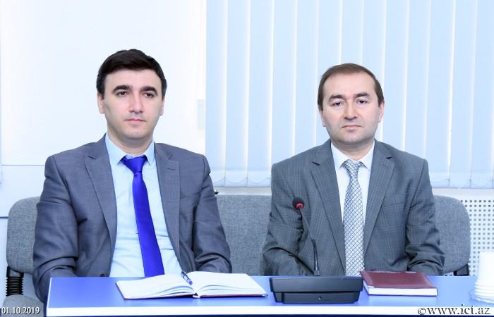 Fərhad Yusifov, Rasim Mahmudov,Fərdi məlumatların təhlükəsizliyinin təmin olunması üçün istifadə olunan müasir metodlar analiz olunub