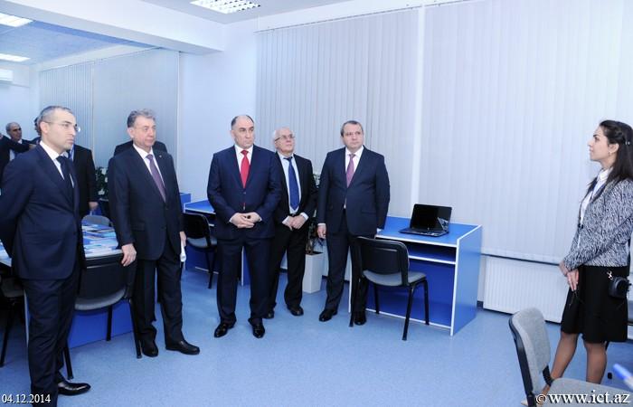 ,İnformasiya Texnologiyaları İnstitutunun Elektron Kitabxana Mərkəzi və Elmi Tədqiqatlar Mərkəzinin açılışı oldu