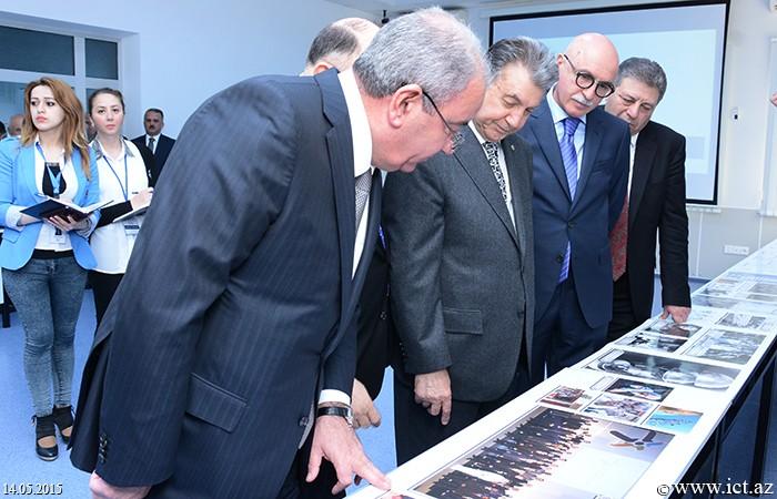 ,AMEA İnformasiya Texnologiyaları İnstitutunda Beynəlxalq Telekommunikasiya İttifaqının 150 illiyinə həsr olunmuş foto-sərgi nümayiş olundu