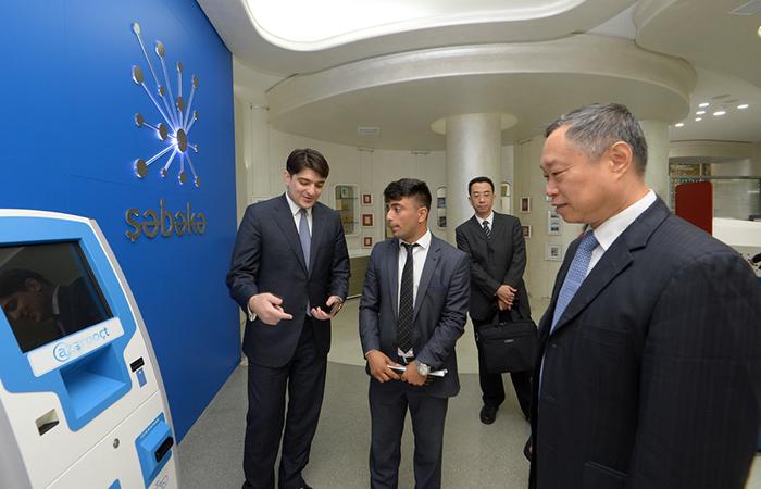 ,Çinlə birgə elektron ticarət  platformasının yaradılması təklif olunub