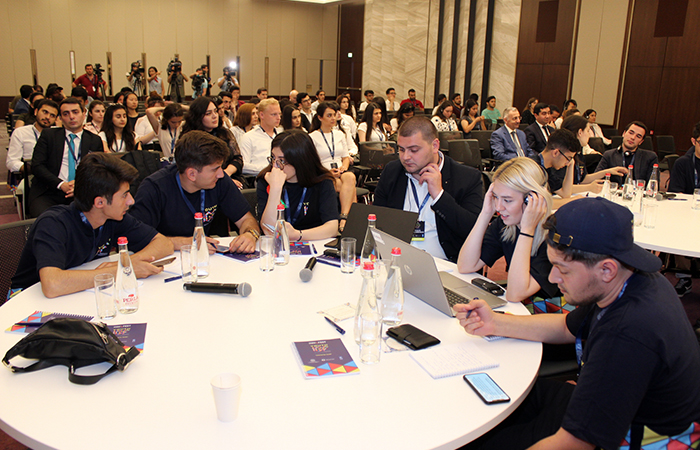 ,Youth Internet Governance Forum held in Azerbaijan first time