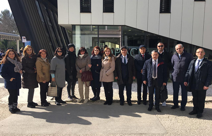 """,Employees of the Institute participated in the meeting held in France under the project """"Nizami"""""""