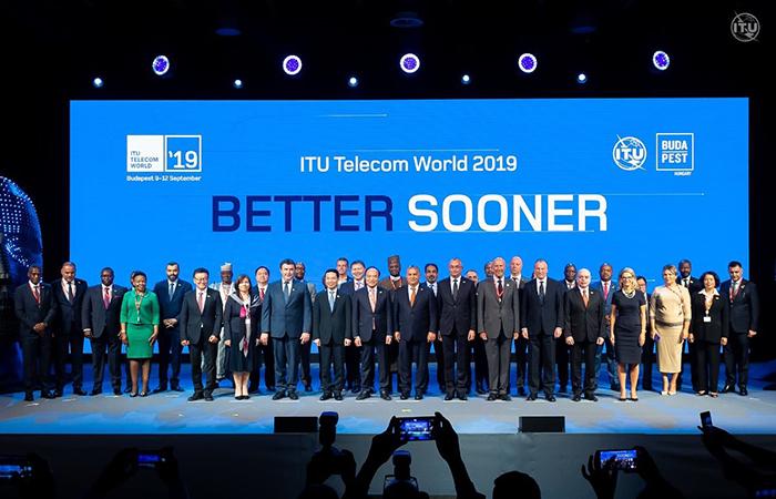 """,""""ITU Telecom World 2019"""" beynəlxalq sərgi-konfransı öz işinə başlayıb"""