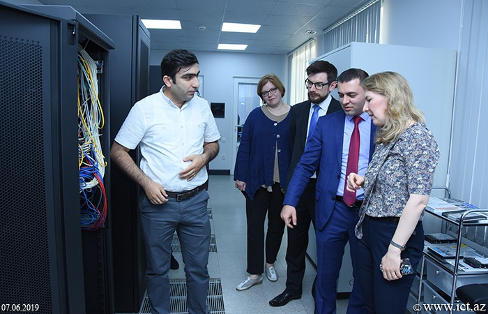 GEANT team visited  Institute of Information Technology of ANAS