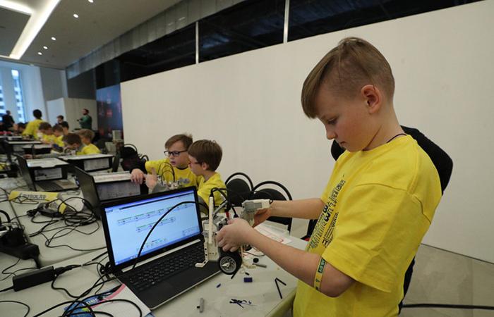 ict.az,Uşaq robototexnika turniri öz işini başa vurub