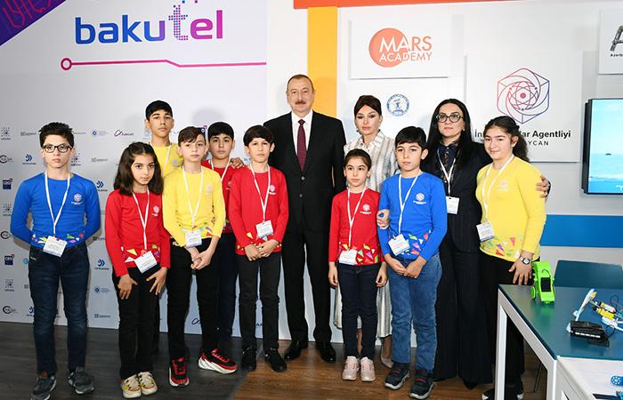 ict.az,President Ilham Aliyev viewed Bakutel 2019 exhibition