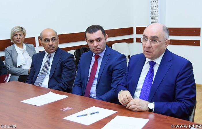 """AMEA İnformasiya Texnologiyaları İnstitutu, ikt.az, ict.az, Rasim Əliquliyev,""""EaPEC 2020"""" konfransına ilkin hazırlıqla bağlı məsələlər müzakirə edilib"""