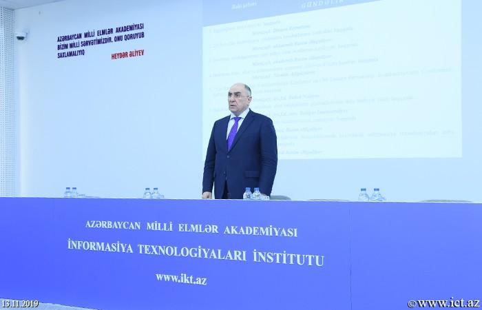 AMEA İnformasiya Texnologiyaları İnstitutu, ikt.az, ict.az, Rasim Əliquliyev,İnstitutda Elmi şuranın növbəti iclası keçirildi