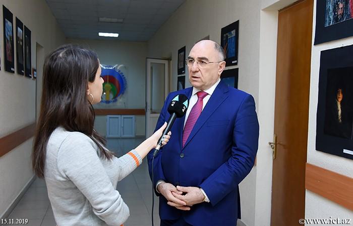 ict.az,Akademik Rasim Əliquliyev Teleradio Akademiyasında mühazirə ilə çıxış edib