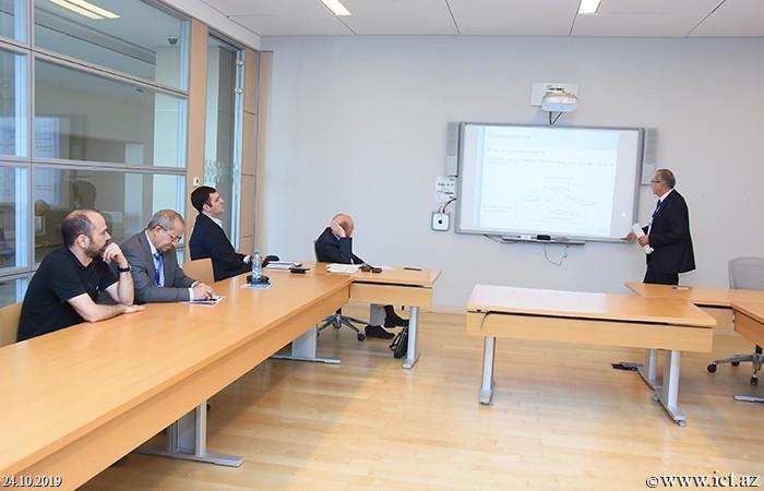 """ict.az, ikt.az, """"İnformasiya və Kommunikasiya Texnologiyalarının tətbiqi üzrə 13-cü IEEE Beynəlxalq Konfransı""""ı (AICT 2019),A report on a model of visualization of computer network monitoring was heard"""