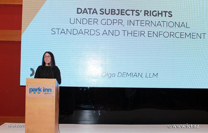 "ict.az, ikt.az, AMEA İnformasiya Texnologiyaları İnstitutu, AMEA İTİ, Институт информационных технологий, Institute of Information Technology,,An event entitled ""Digital Law: Protection of Personal Data"" held"