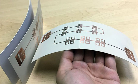 """Printed Wi-Fi sensors turn everyday objects into """"smart"""" devices"""