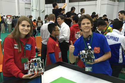 World Robot Olympiad in Sochi was attended by a record number of countries