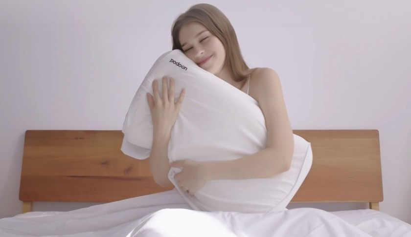 Podoon: a smart pillow is presented that adapts to the person's posture