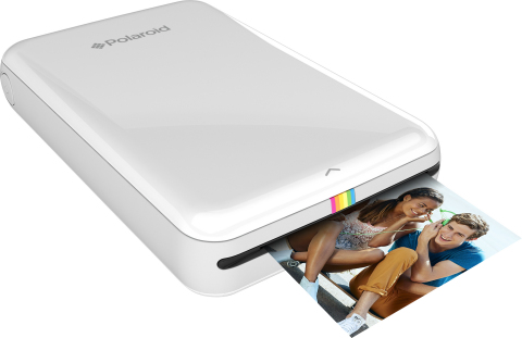CES 2015: Polaroid's portable Zip printer offers fast, ink-free photo prints from Android or iOS