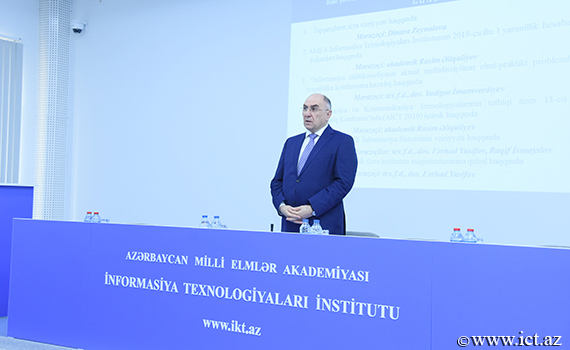 "Academician Rasim Aliguliyev: ""Our main goal is the further development of the scientific potential of the institute"""