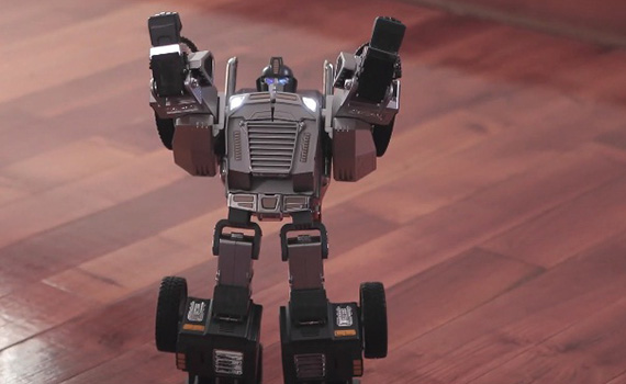 Smart transforming robot collected $ 46.215 in four days